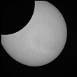 Partial Sun eclipse on 04/01/2011 at 8h28 at 782 nm